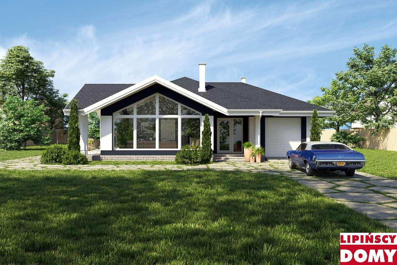 projekt domu parterowego Ajaccio dcb73 Lipińscy Domy