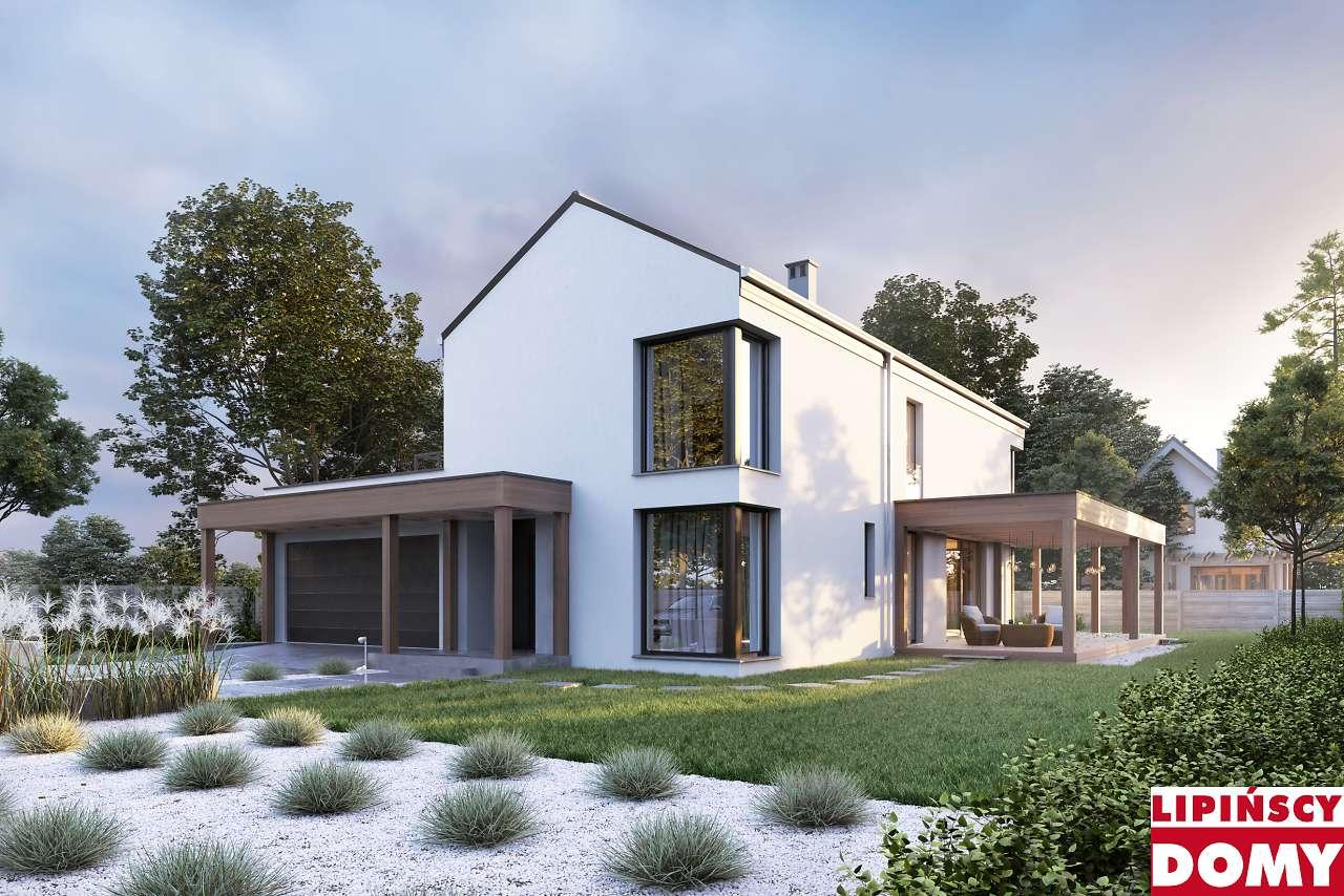 projekt domu piętrowego Dax dcp365 Lipińscy Domy