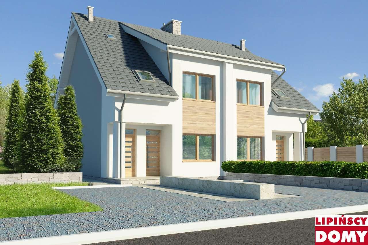 projekt domu Fossano III dcbl13 Lipińscy Domy