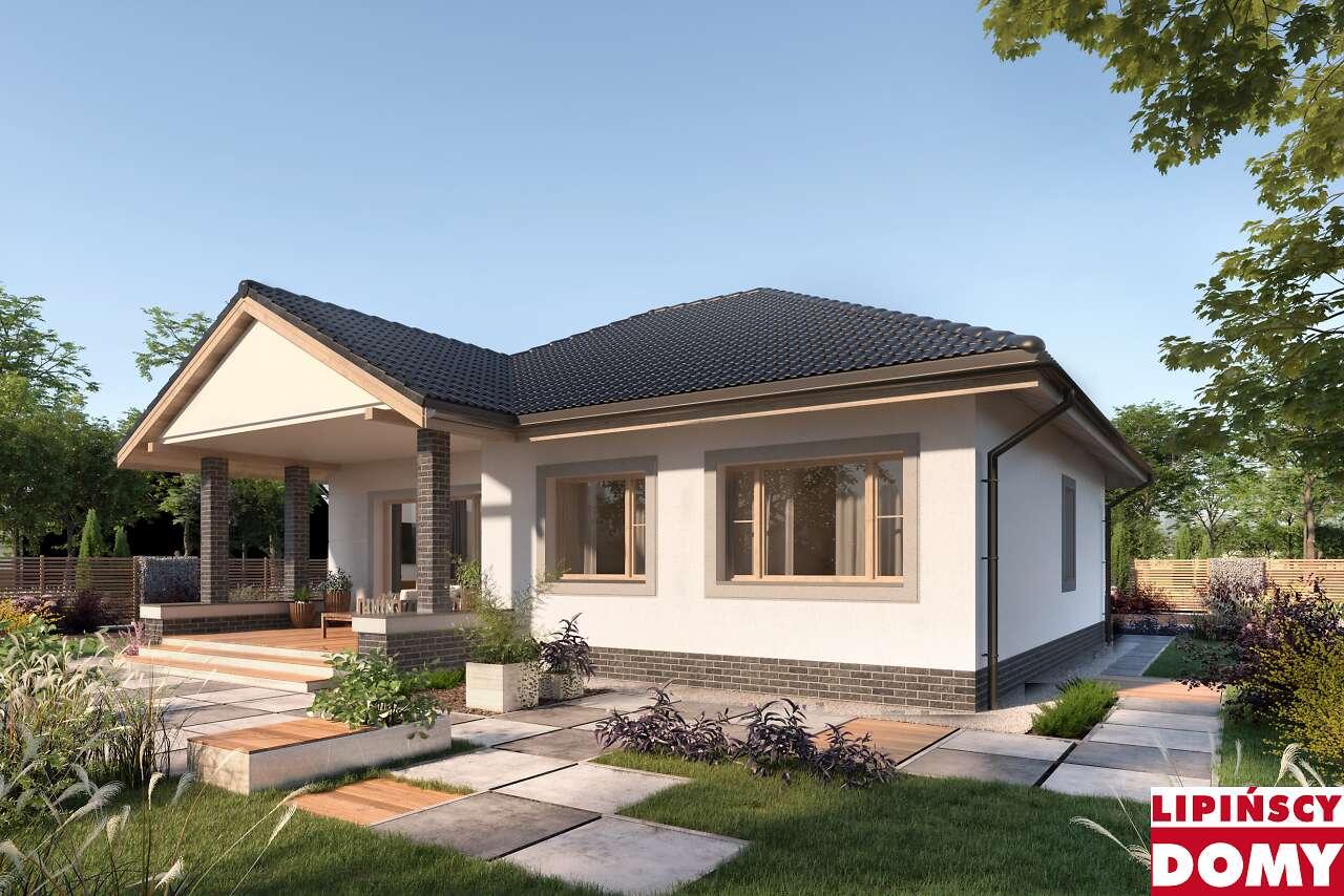 projekt domu Lucia dcb88 ogród Lipińscy Domy