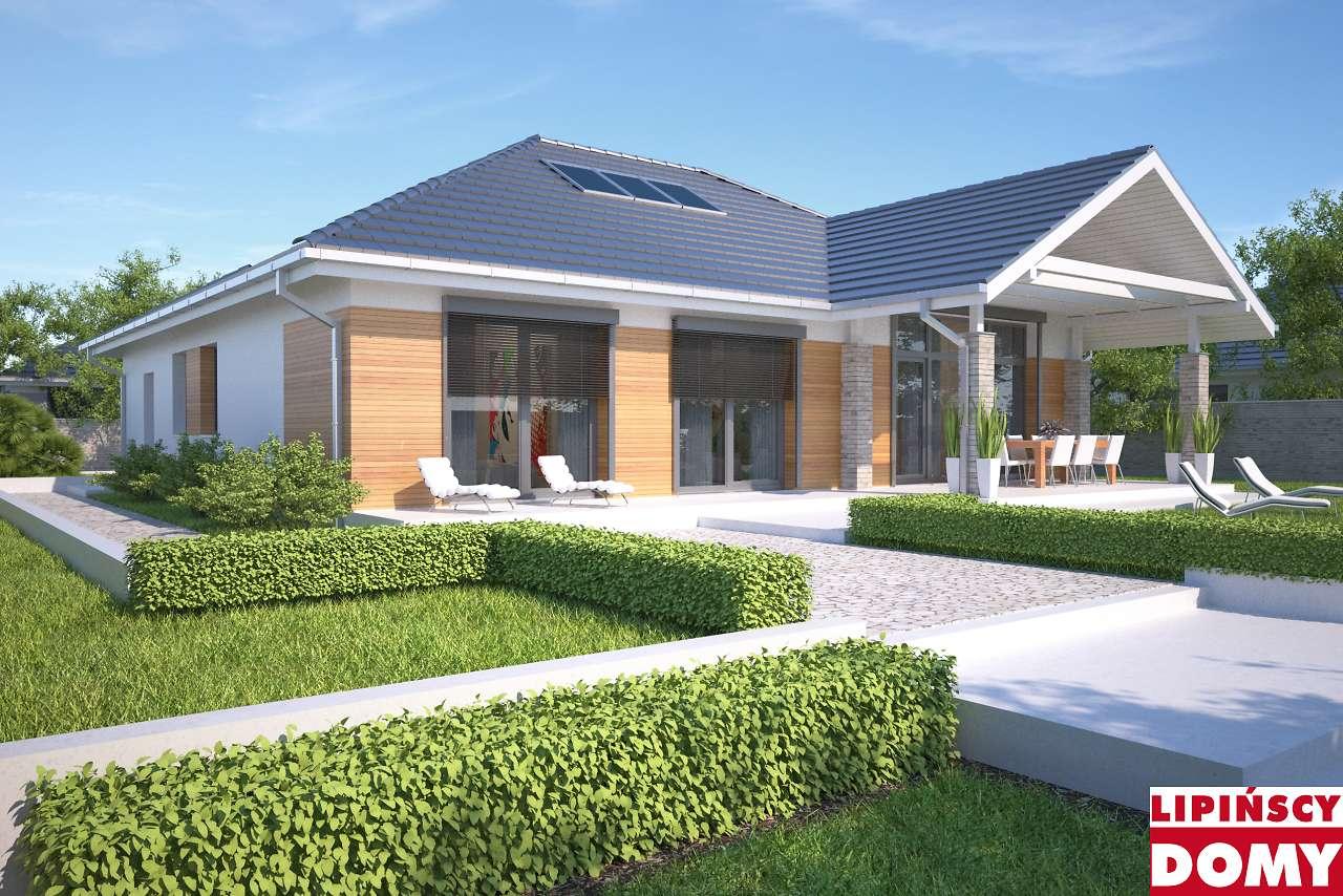 projekt domu Monterey II aswyny ldp07 Biura Lipińscy Domy