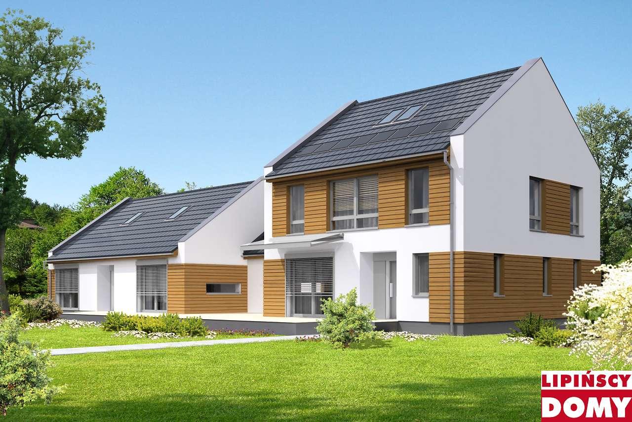 projekt domu wielopokoleniowego Odense dcp322 Lipińscy Domy