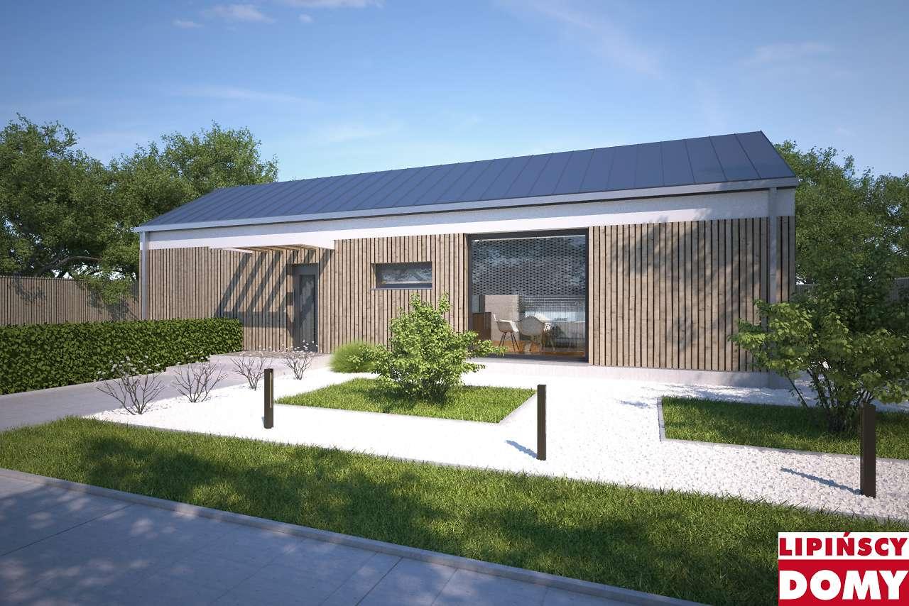projekt domu Praia II dcb134a Lipińscy Domy