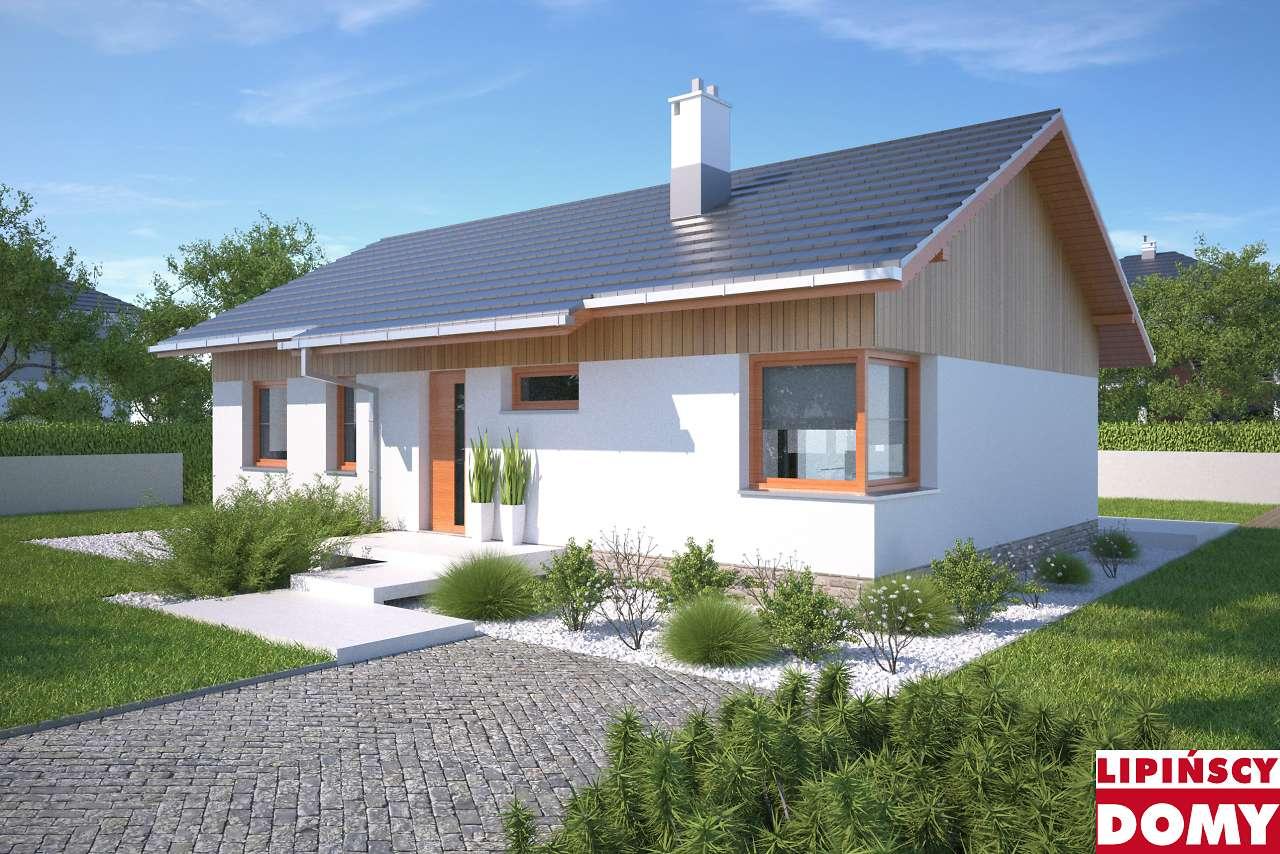 projekt domu parterowego Royan IV dcb89c biura Lipińscy Domy