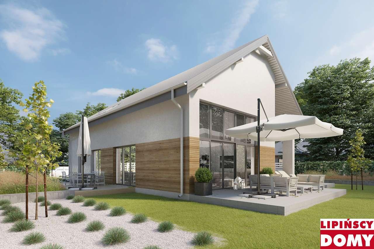 projekt domu pasywnego Sligo ldp09 Lipińscy Domy