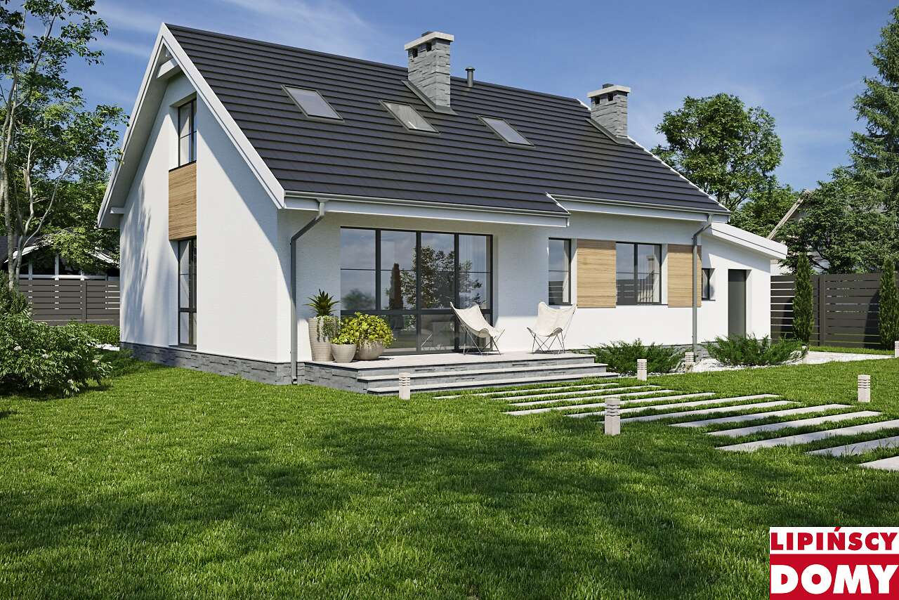 projekt domu Tuluza VII lmb31f Lipińscy Domy