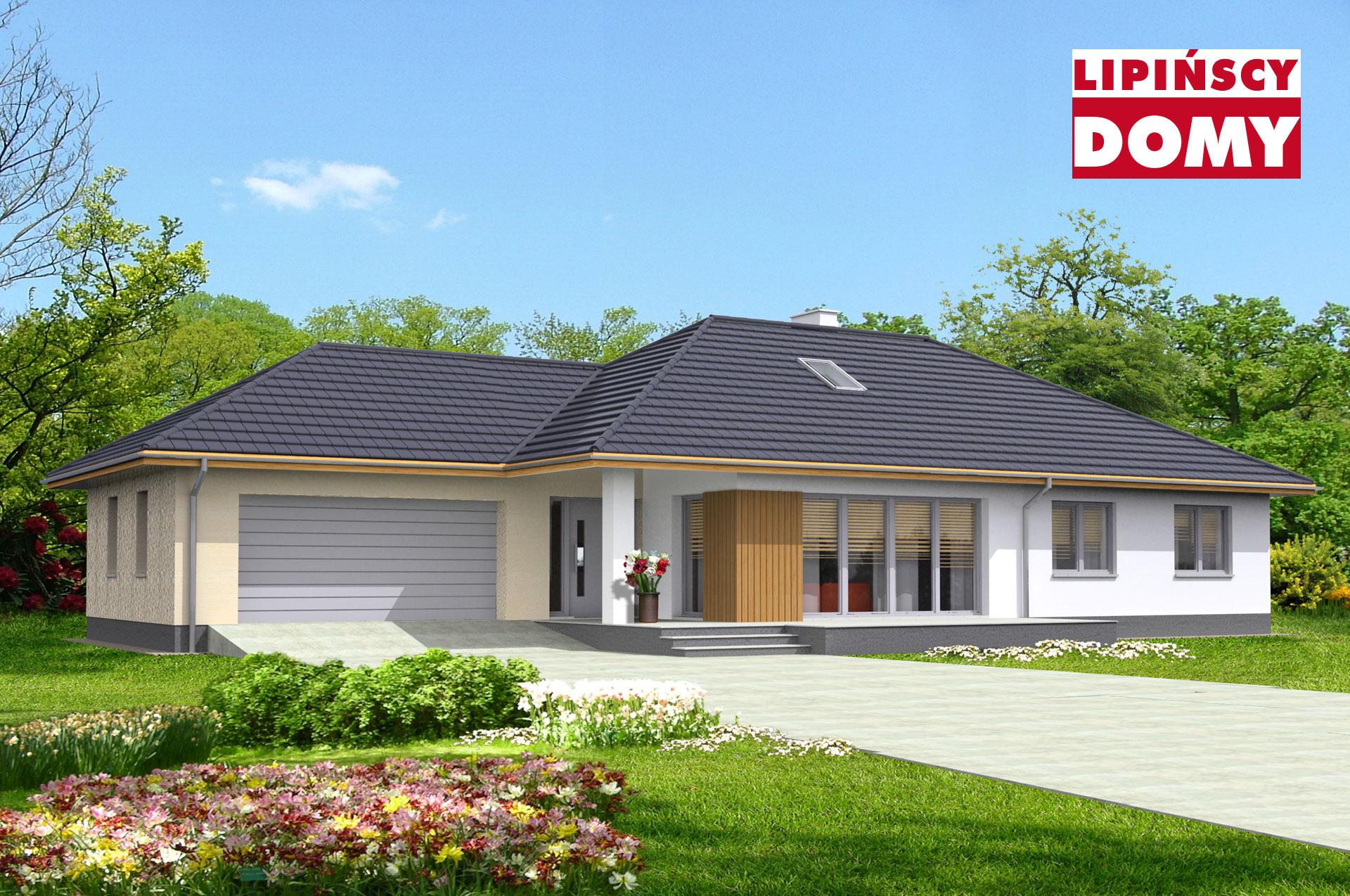 projekt domu Verona dcb124 Lipińscy Domy