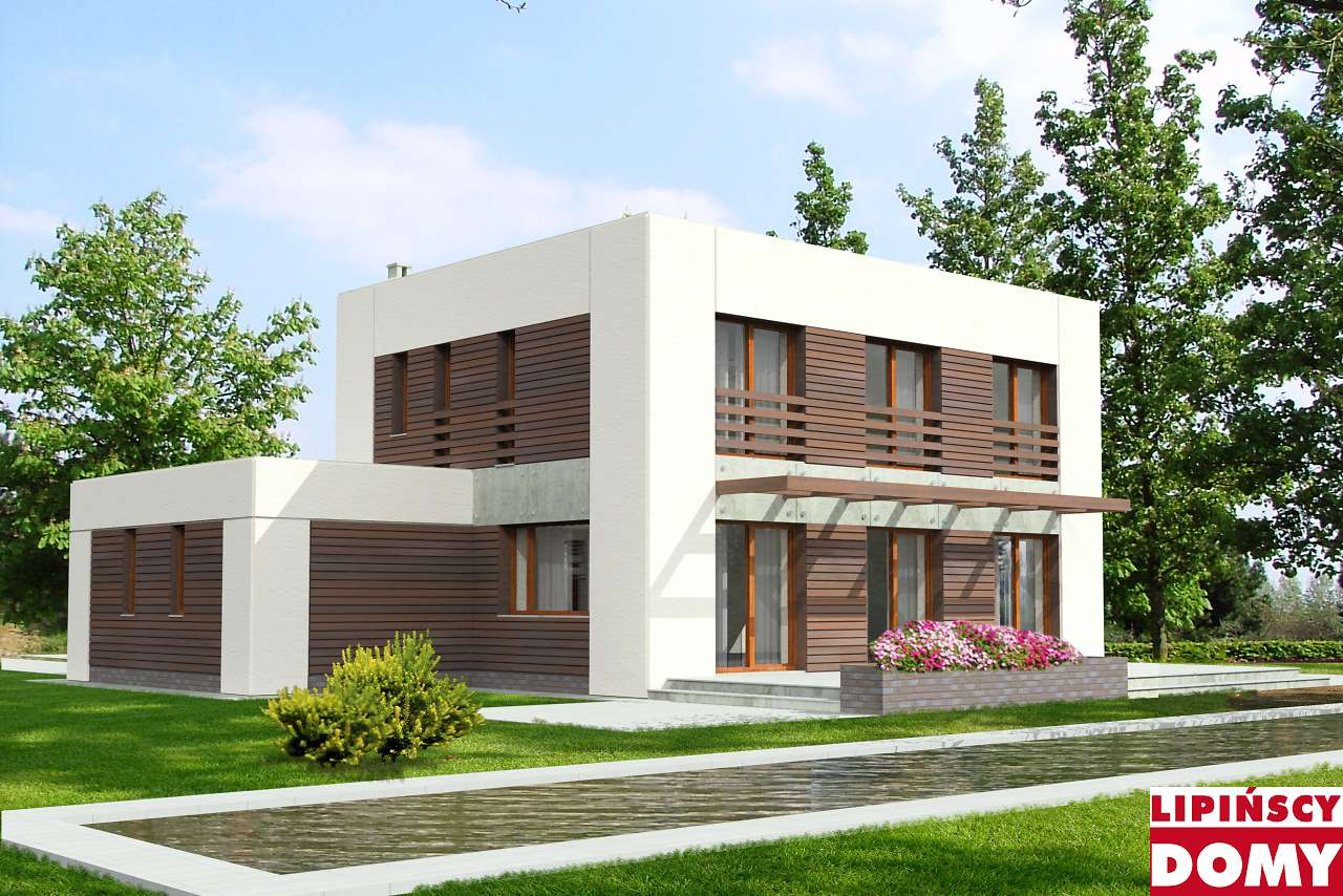 projekt domu pasywnego Espoo ldp04 Lipińscy Domy