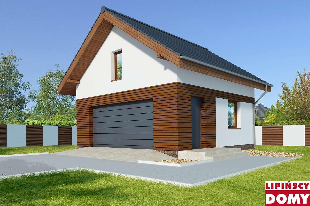 projekt garażu g42 z Biura Lipińscy Domy