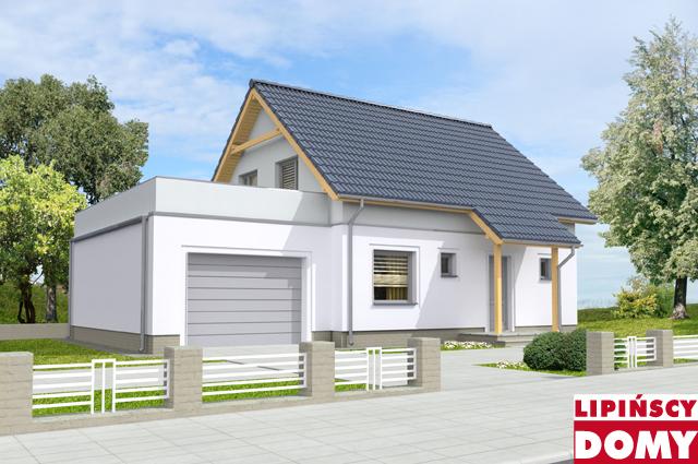 projekt domu pasywnego Valetta II ldp06a z Biura Projektowego Lipińscy Domy