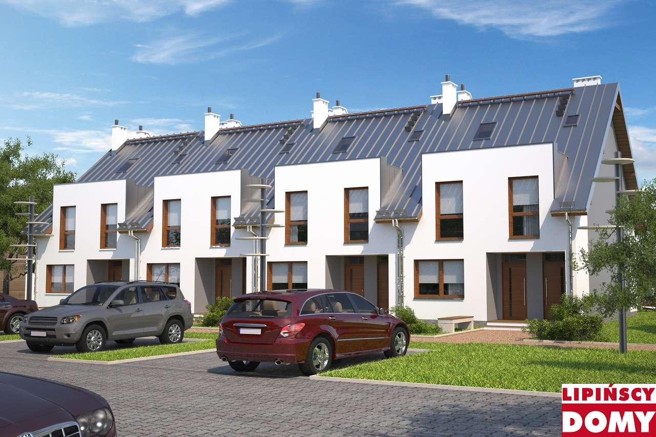 projekt domu szeregowego Almere dcs14 Lipińscy Domy