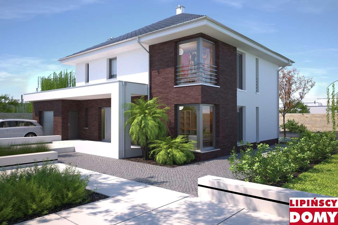 projekt domu Carrara II dcp332a Lipińscy Domy