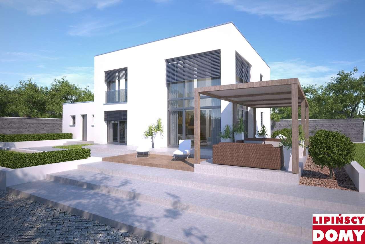 projekt domu piętrowego Koge III dcp402b Lipińscy Domy