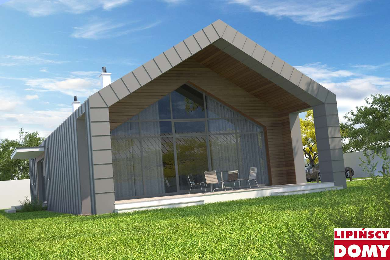 projekt domu Lancaster dcb104 Lipińscy Domy