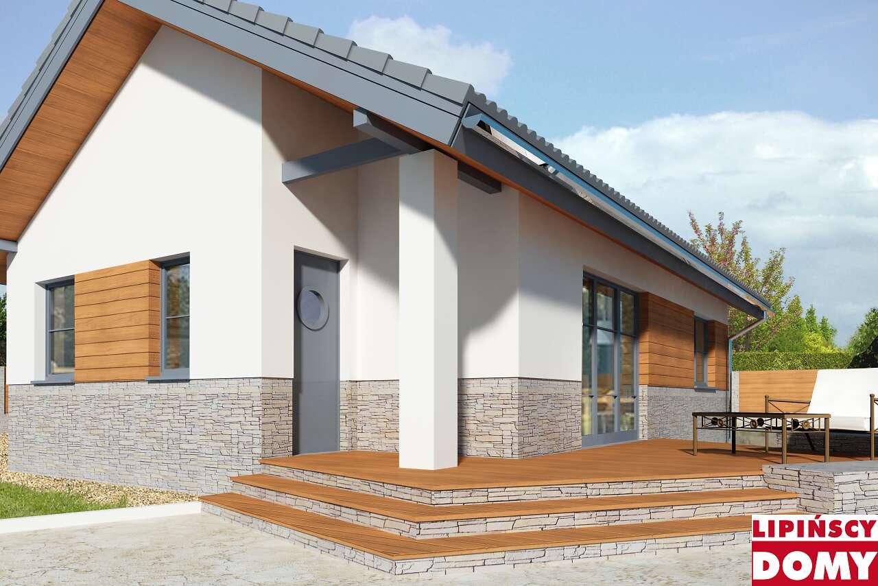 projekt domu Lucca VII LMB71f Lipińscy Domy