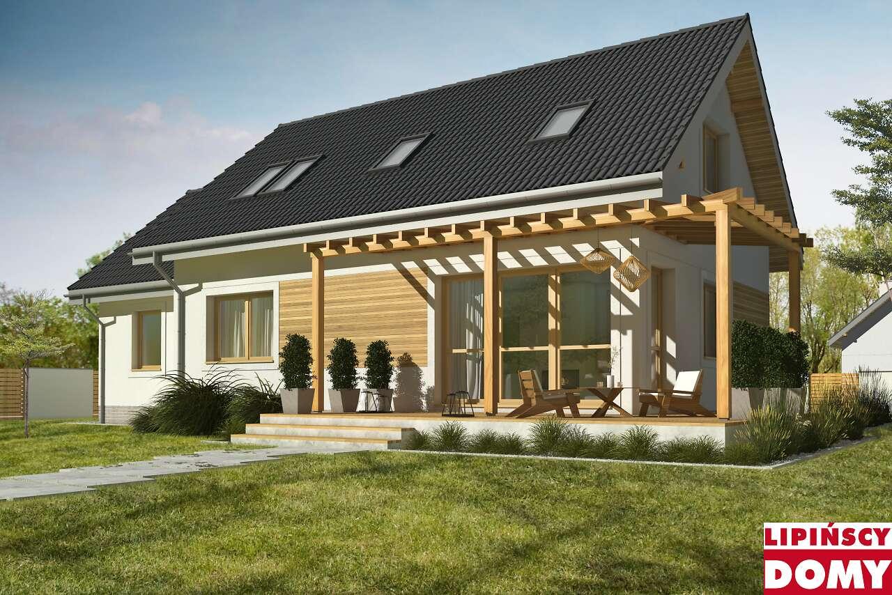 projekt domu Vigo IV biura Lipińscy Domy