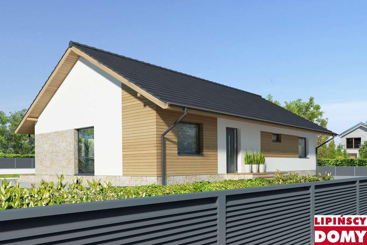 projekt domu Arosa II dcb115a Lipińscy Domy