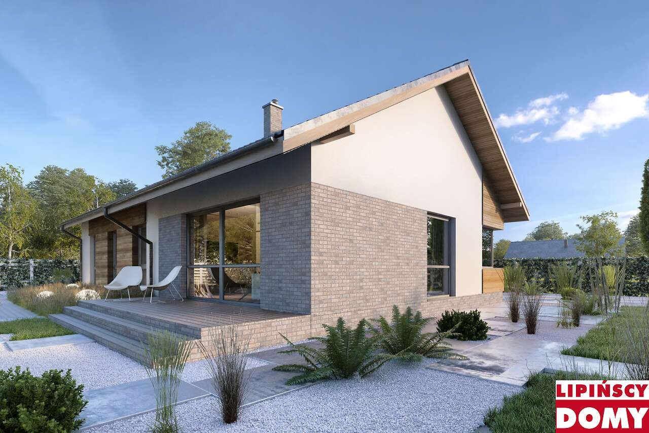 projekt domu Arosa lmb115 detal - Lipińscy Domy