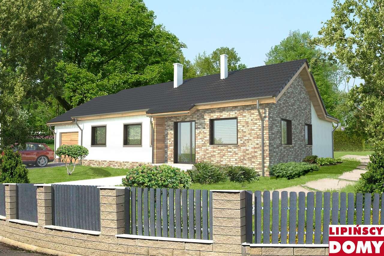 projekt domu Rijeka II lmb13a Lipińscy Domy