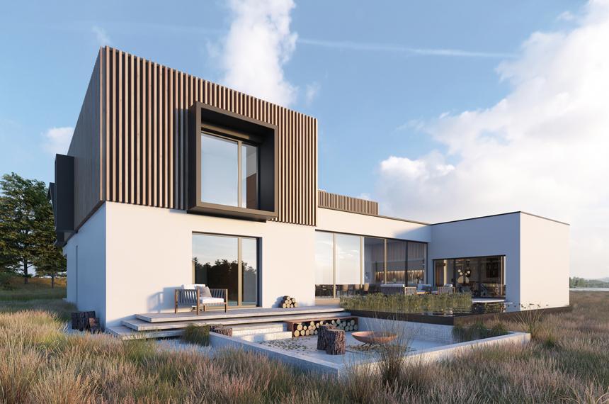 projekt nowoczesnego domu Annecy - Lipińscy Domy