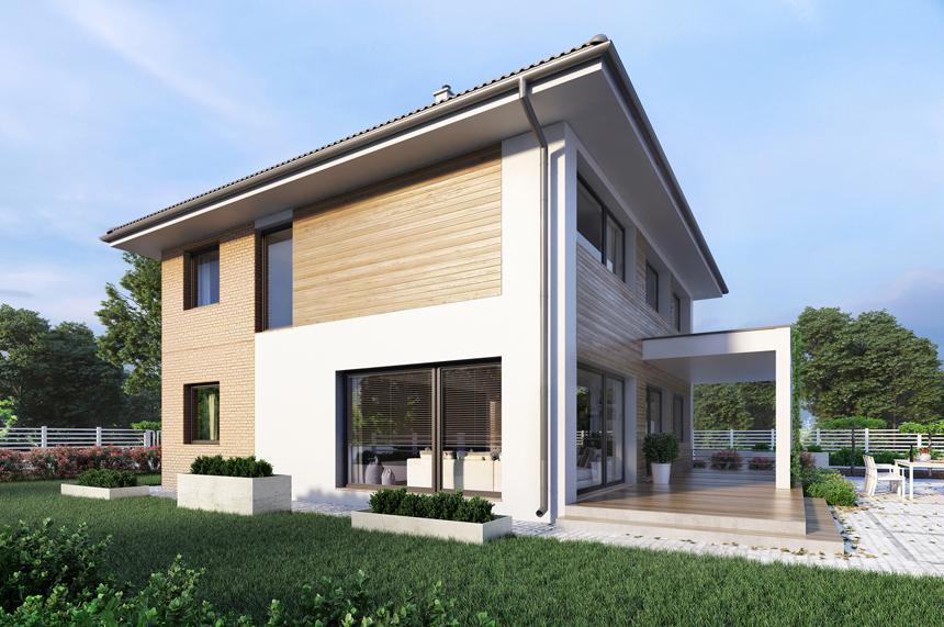 projekt nowoczesnego domu Carrara III - Lipińscy Domy