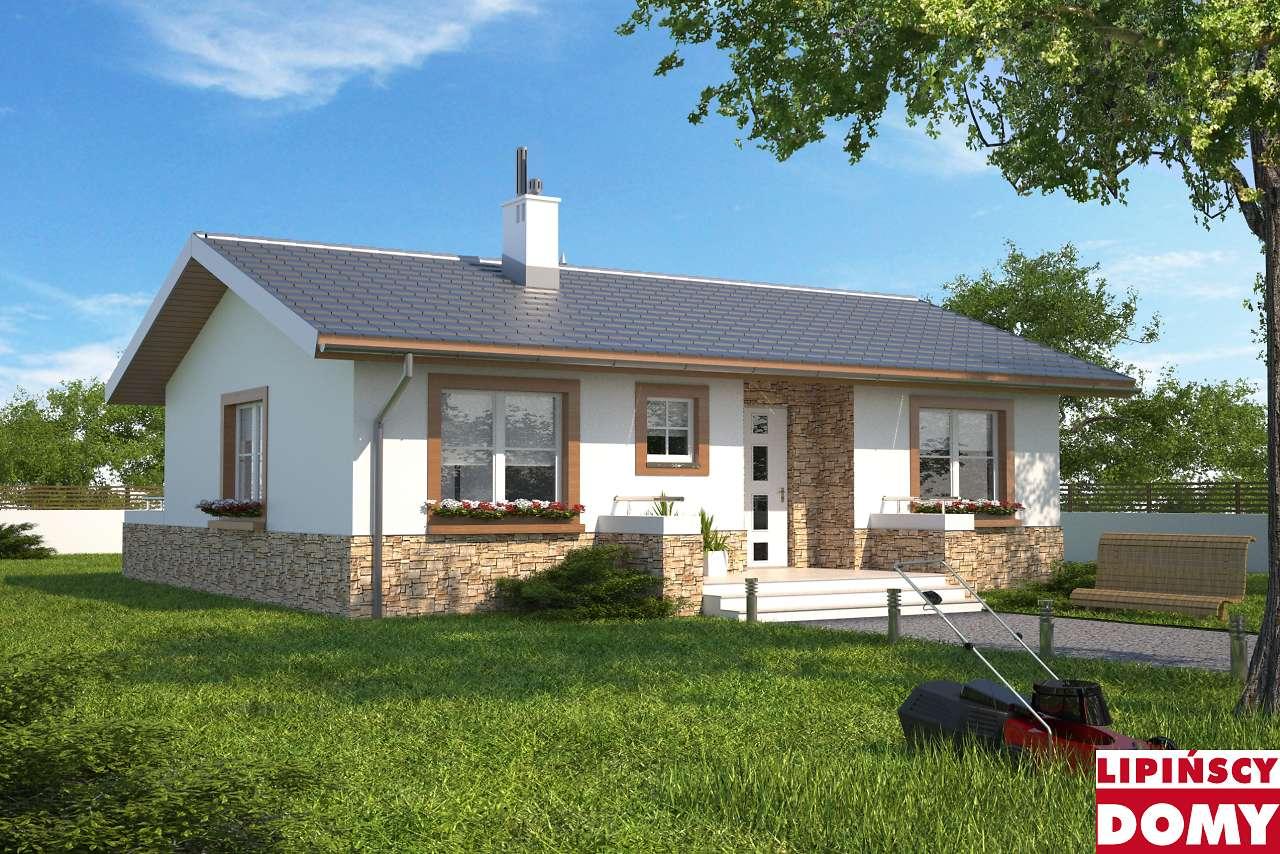 projekt małego domu Oban lmb96 Lipińscy Domy