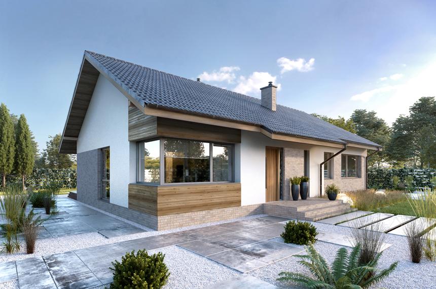 dom parterowy Arosa - Lipińscy Domy