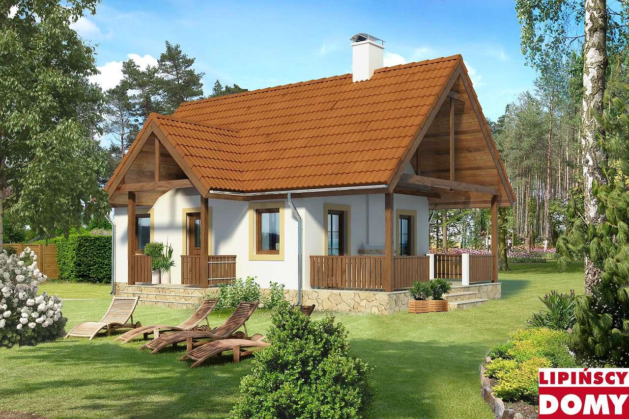 projekt weekendowy Aurora lmw03 Lipińscy Domy