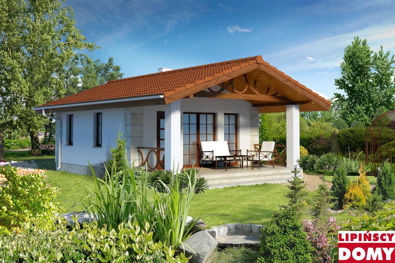 projekt weekendowego domu Ibiza lmw15 biura Lipińscy Domy