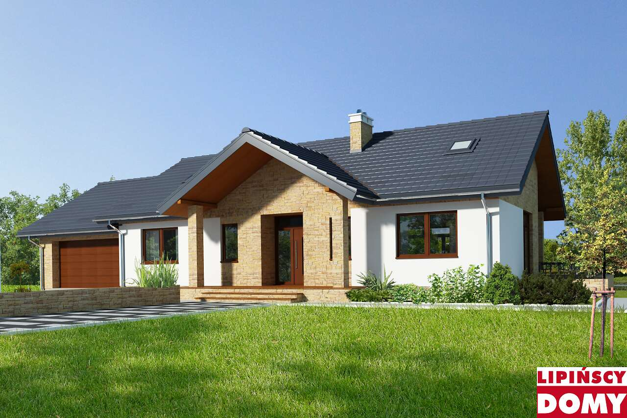projekt domu Rockville II dcb121a biura Lipińscy Domy