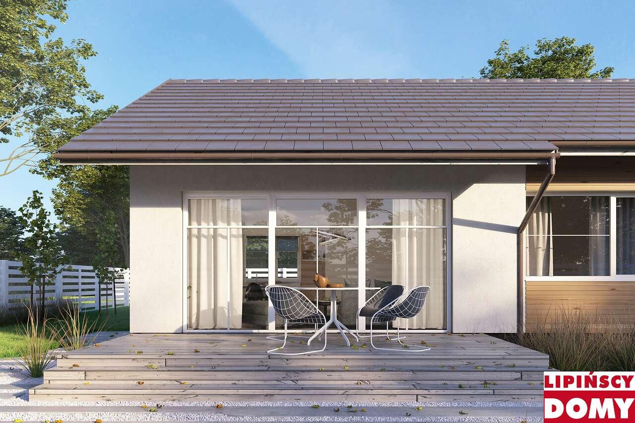 detal projektu domu Royan II dcb89a Lipińscy Domy