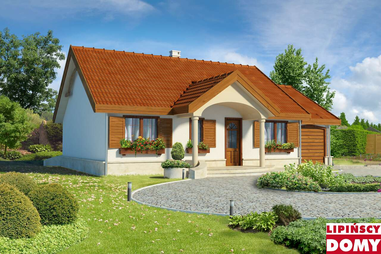 projekt domu Sofia IV lmb41c biura Lipińscy Domy