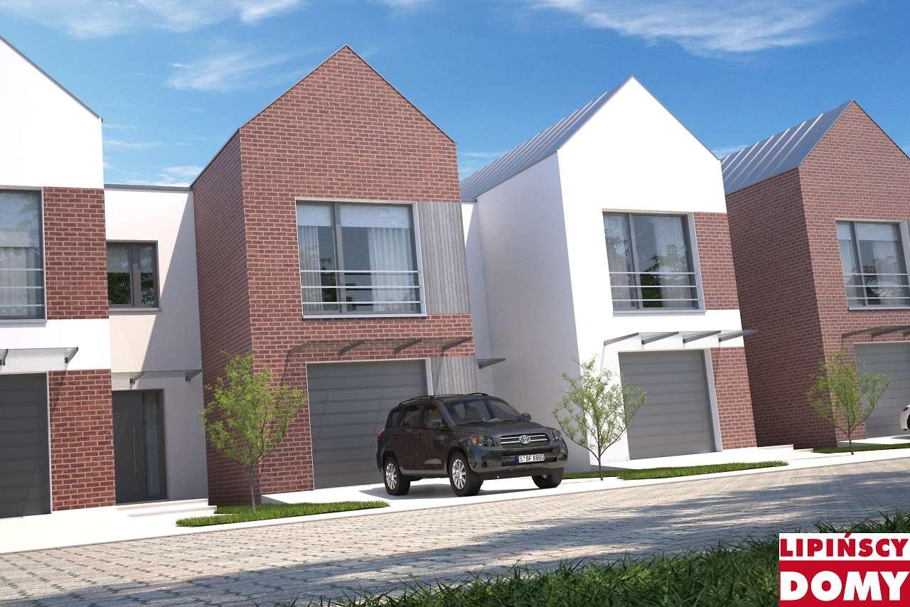projekt w zabudowie szeregowej Lakeland dcs19 Lipińscy Domy
