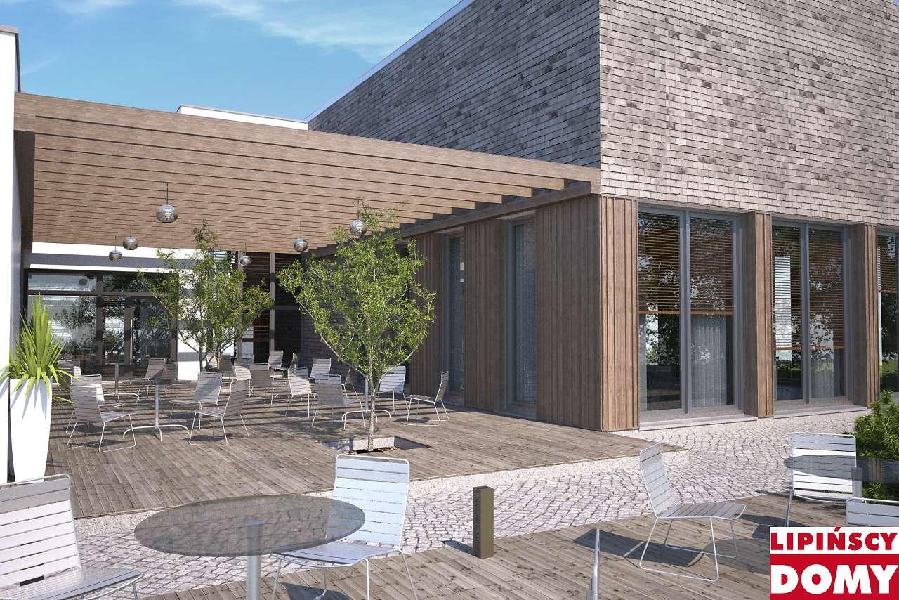 projekt budynku usługowego Jastrząb dcu03 Lipińscy Domy