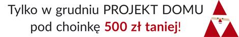 Promocja mikołajkowa - projekt pod choinkę 500 zl taniej