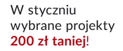 Promocja rabat 200 zł na projekty z nowego katalogu