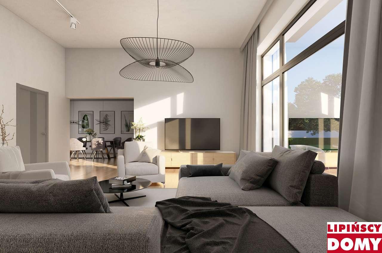 wnętrze domu z projektu Vitrac II dcb131a Lipińscy Domy