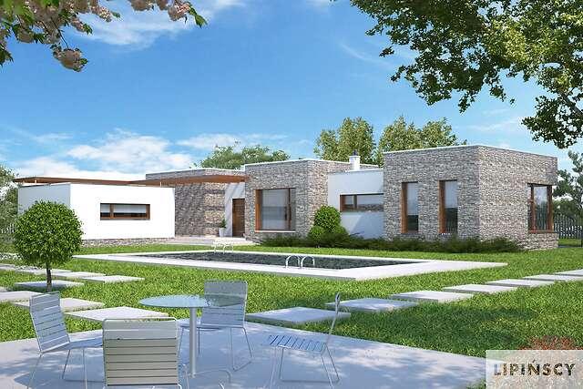 Zobacz powiększenie wizualizacji ogrodowej - projekt Villach