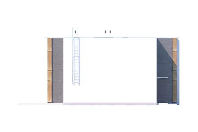 Zobacz powiększenie elewacji bocznej lewej - projekt Springfield III