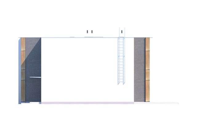 Zobacz powiększenie elewacji bocznej prawej - projekt Springfield III