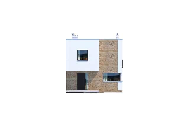 Zobacz powiększenie elewacji frontowej - projekt Delft III