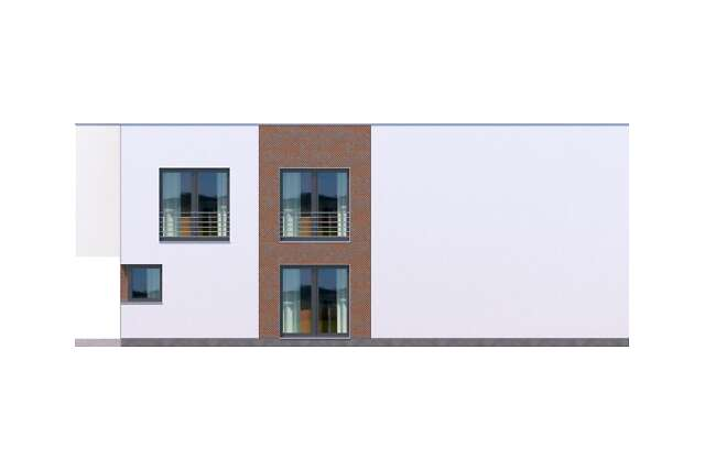 Zobacz powiększenie elewacji bocznej prawej - projekt Delft IV