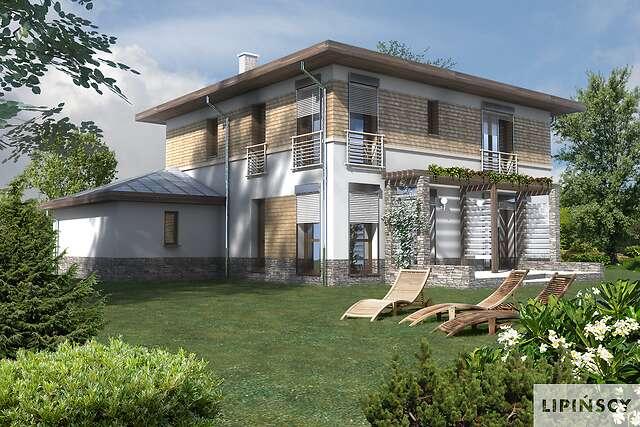 Zobacz powiększenie wizualizacji ogrodowej - projekt Amalfi