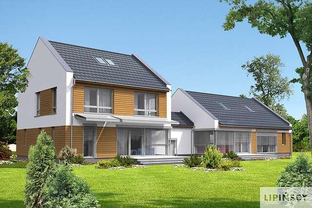 Zobacz powiększenie wizualizacji ogrodowej - projekt Odense