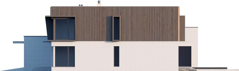 Elewacja boczna prawa - projekt Annecy