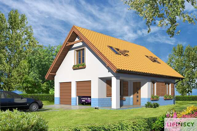 Projekt Domu Garaż G38 Kup U źródła