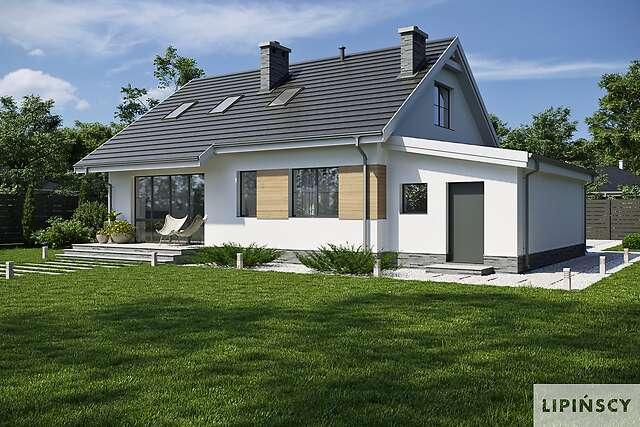 Zobacz powiększenie wizualizacji ogrodowej - projekt Tuluza VII