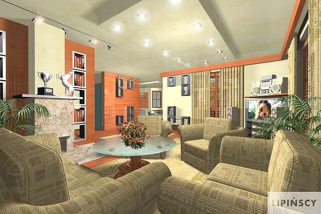 Zobacz powiększenie wizualizacji wnętrza - projekt Las Vegas