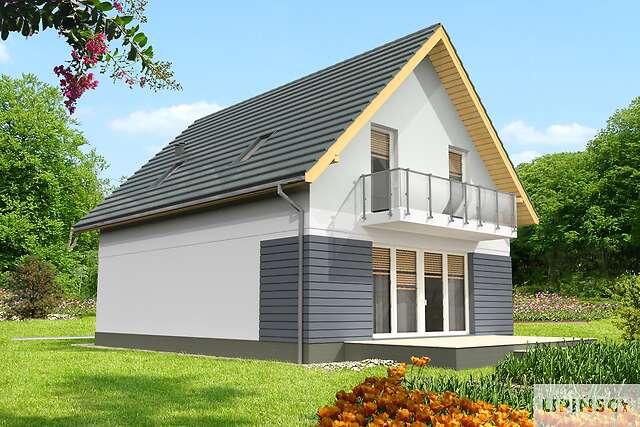 Zobacz powiększenie wizualizacji ogrodowej - projekt Malmo III