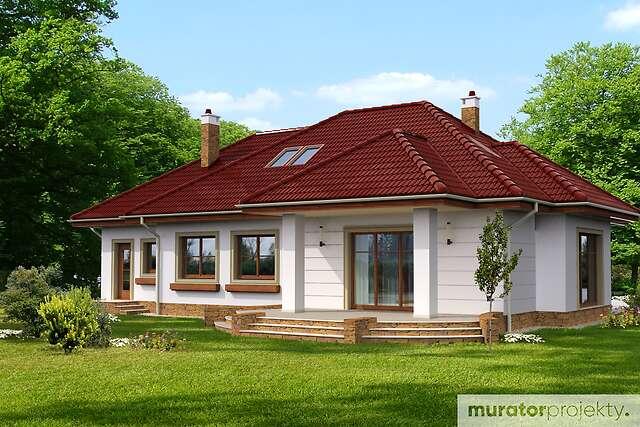 Zobacz powiększenie wizualizacji ogrodowej - projekt Gustowny w.II